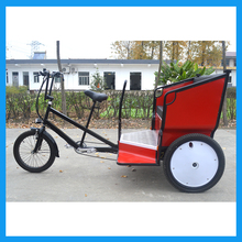 China Rickshaw Three Wheel Electric Passenger Tricycle Bike
