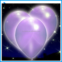 Romantic Heart Shape LED Balloon For Party Decoration