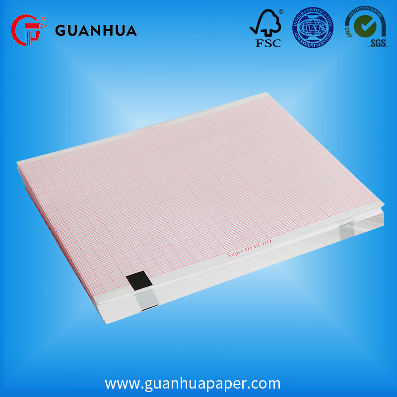 High quality advanced 210x30mm ecg medical thermal paper
