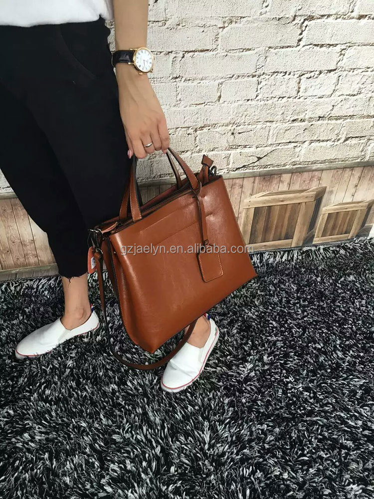 multicolor top quality fashion designer wax vintage leather bags for women genuine leather ladies handbag shoulder bags purses