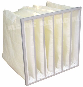 AHU Air Conditioning Unit pocket filter filtros bolsas