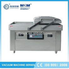 Popular vacuum packaging plant machine with double chamber room for supermaket DZ-400/2SA