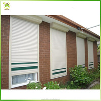 House gate grill designs exterior Steel Electric roller shutter window china transparent rolling shutter door