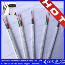copper core pvc insulatied BVVB electric flexible cable