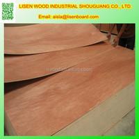 Hardwood Veneer Faced Plywood,4mm Okoume Plywood Door Skin