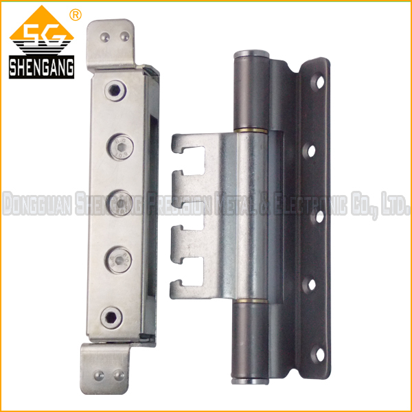180 degree SS heavy duty 3D adjustable rebated doors hinge
