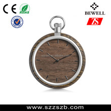 2017 Natural Wooden pocket Watch Antique Pocket Watches