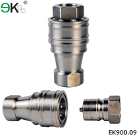 Close type No- Leakage Double Shut-off air hose coupling
