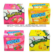 New product special candy made by indian sweet making machines fresh strips VE-F042