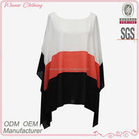 summer/casual boat neck batwing sleeve girls matching tops and skirts