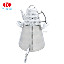 New design high quality double tea kettle kitchen coffee kettle set