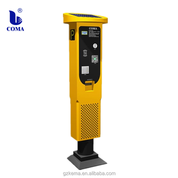 Newest Multi-function parking meter payement machine