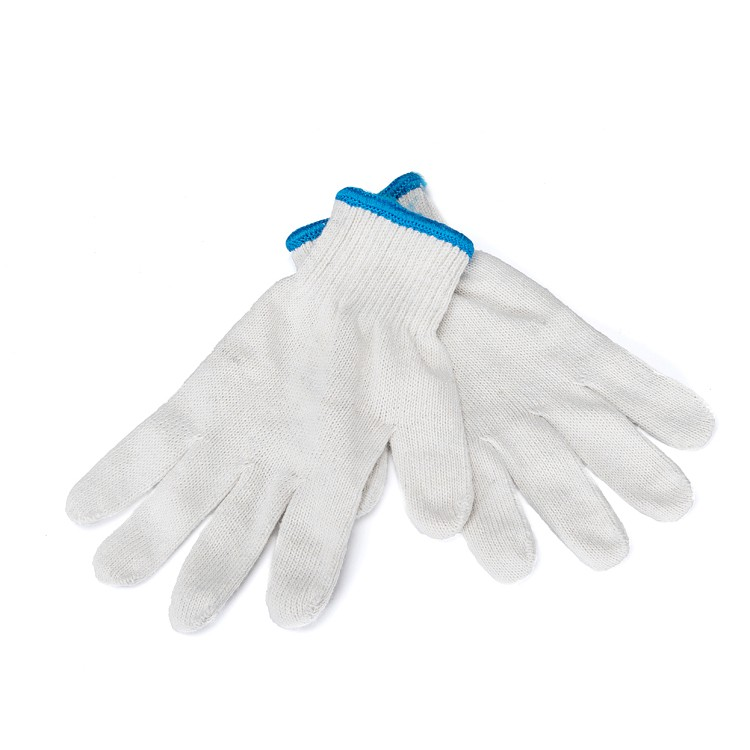 wholesale export quality knitting labour protection gloves wear-resisting work gloves
