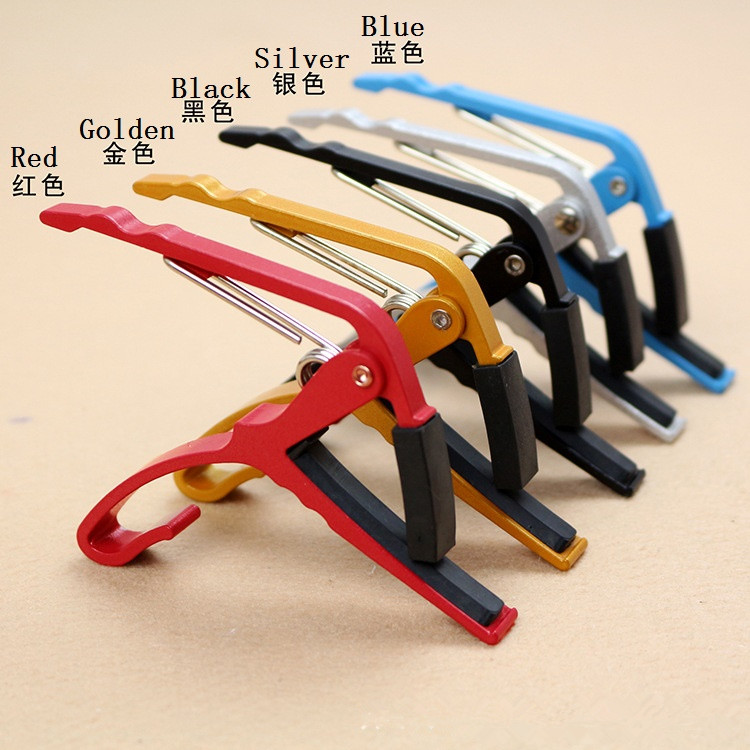 Metal alloy Key Clamp Capo For Acoustic/Electric/Classic Guitar