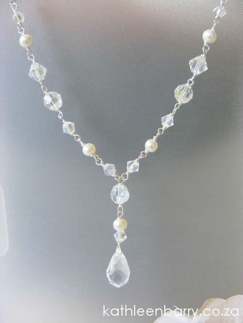 Fiona Necklace wedding bridal accessories jewellery