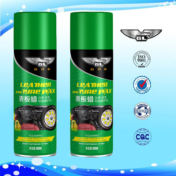 450ml dashboard wax spray dashboard rubber spray