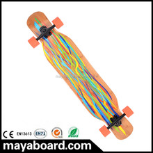 100% China North Maple (A class)Wood Downhill Skateboard Longboard