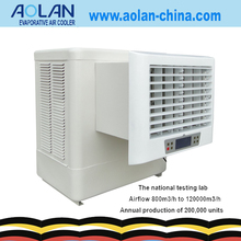 low power consumption side duct air diffuser swamp cooler evaporative cooler