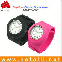 wholesale fashion waterproof silicone watch made in china