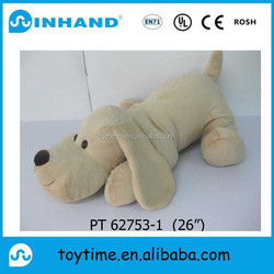 festival gift plush Lie prone dog/promotional cute stuffed pet puppy for sale