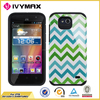 accessories glossy cover for ZTE Z812/Z813 2 in 1 image phone case