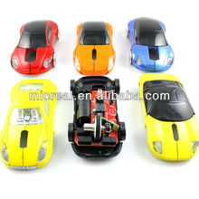 Hot Selling Low Cost 2.4GHz Wireless Car Mouse