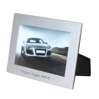 7 inch pendulum table frame customized logo gift aluminum alloy picture photo frame