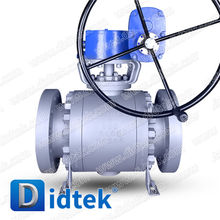 "Didtek 8"" 900LB A105 Forged Metal Seal Trunnion Ball Valve"