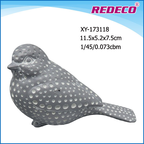 new design antique finish resin bird statue for decoration