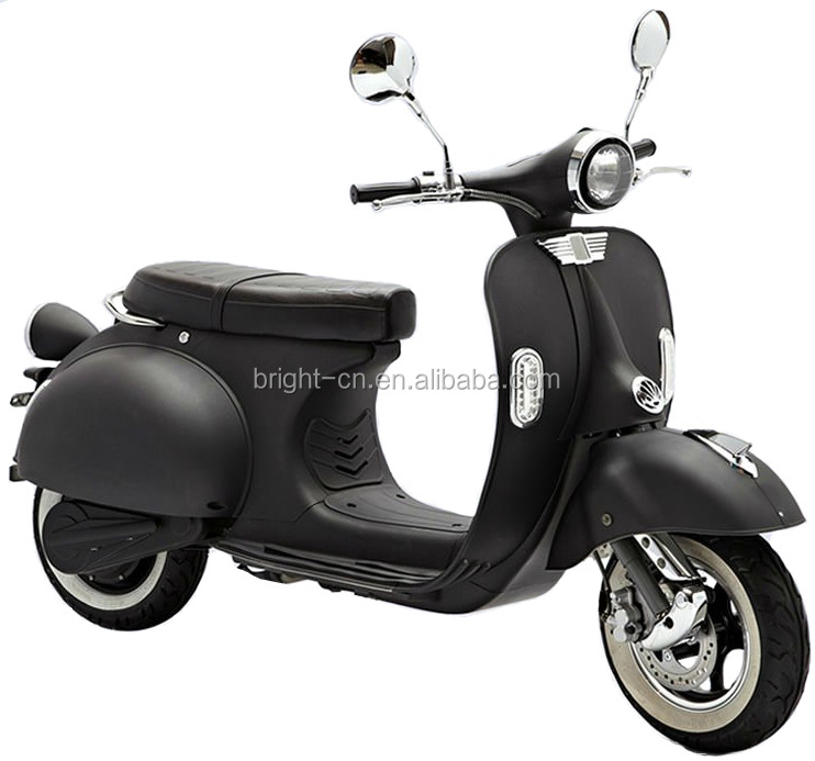 sale chinese cheap vintage Vespa electric scooter motorbike 1000w electric motorcycle moped with retro style