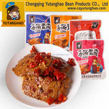 Spicy Vegetarian Fake Meat Snacks made from Soybean