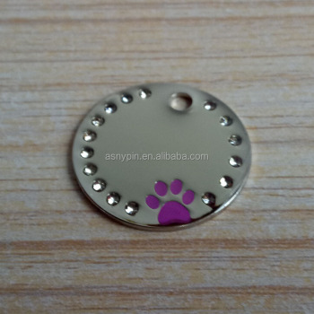 metal tag wholesale wildly popular fashion dog tag for travel and all occasion