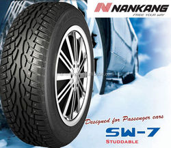 NANKANG Stud Winter Car Tires 205/55R16 195/50R15 Snow tyre Taiwan tire