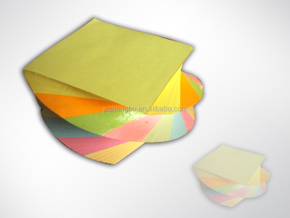 Factory direct sale foot shaped sticky note pad