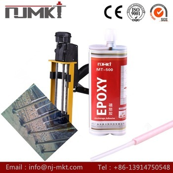 Chemical anchors chemical fixings anchorage adhesive