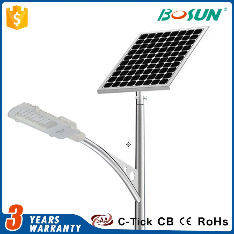 factory wholesale 20w 30w 50w 100w outdoor led solar street light for garden