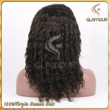 Wave virgin brazilian hair lace front wig extension,cheap brazilian wholesale hair hair sew