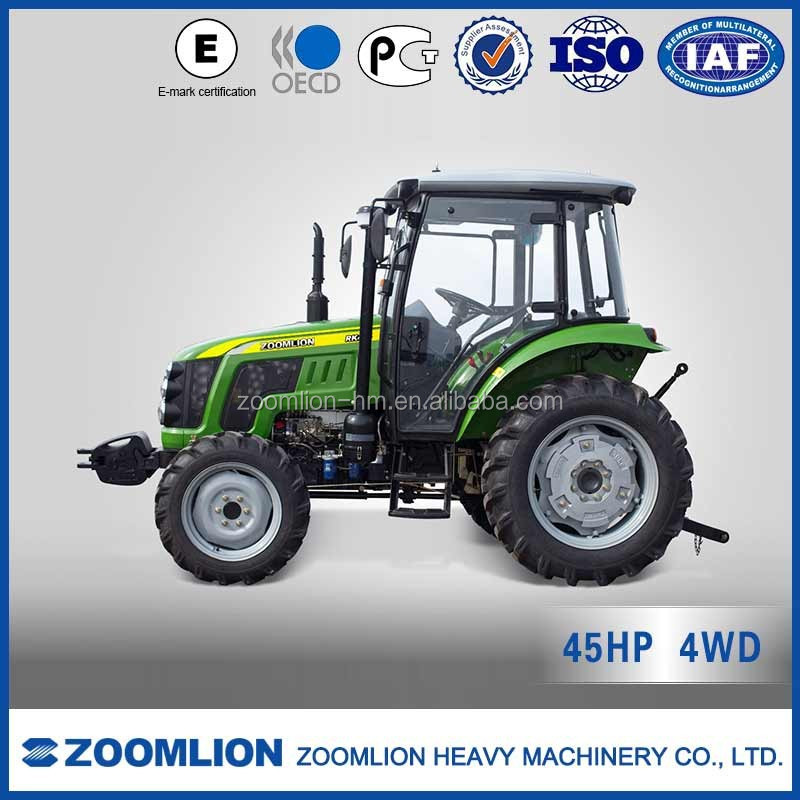 ZOOMLION high quality 45HP 4WD RK454 farm tractor