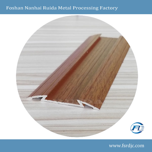 RUIDA High Quality Flexible Aluminum Wooden Floor Trims