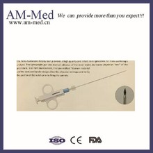 Semi-automatic Biopsy needle gun