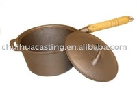 cast iron cookware/cast iron sauce pan
