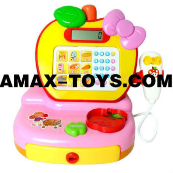 ht-111904 toy shop Children pretend toys supermarket cash register set