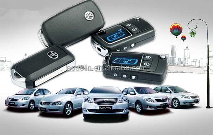 12V remote control unit keyless entry system,passive remote with PKE function