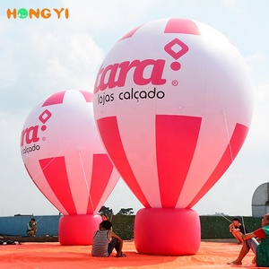 Inflatable used manned hot air balloon price for sale big inflate hot air balloon fabric