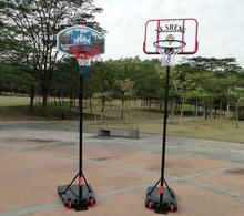 wholesale Adjustable Portable Mini basketball stand Arcade basketball net