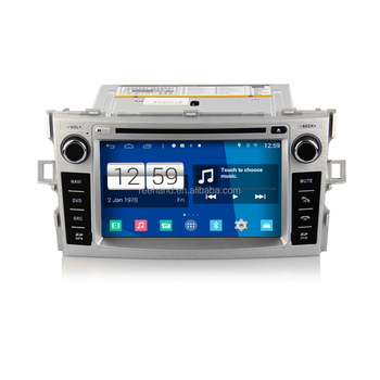 Newest Quad Core S160 HD 1024*600 Touch Screen Android 4.4.4 Car DVD player for Toyota verso with radio Wifi GPS navi Radio