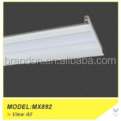 2foot/4foot/5foot/6foot fluorescent tube ip65 led tri-proof light fixture with polycarbonte diffuser