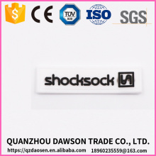 stitching patch 3d rubber zipper slider factory price