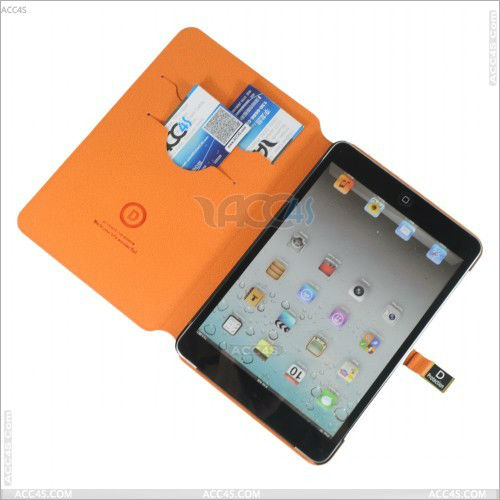 for mini ipad cover,stone pattern wallet leather case for ipad mini P-iPDMINICASE106