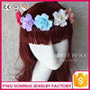 2015 Lowest price artificial plastic flower hair wrap